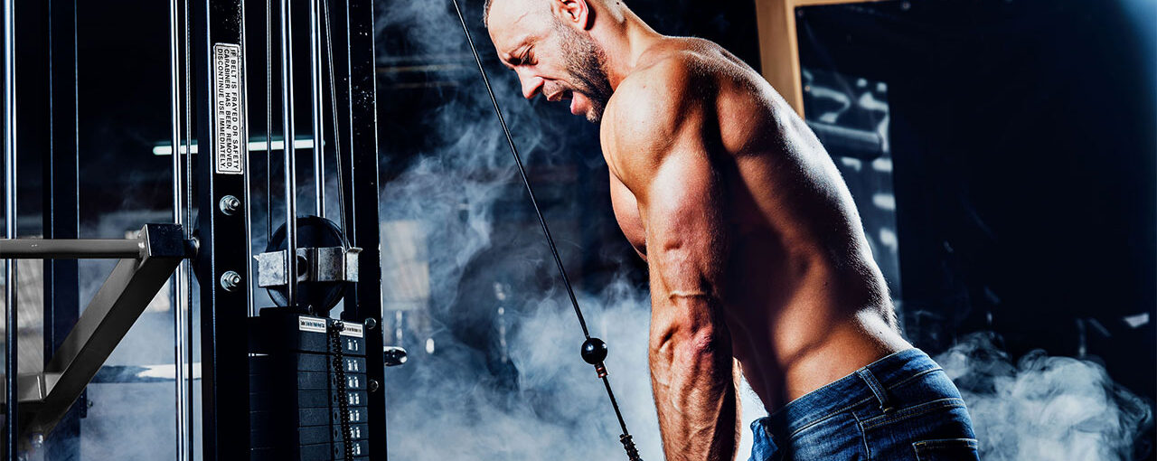 Feathered Triceps Workout