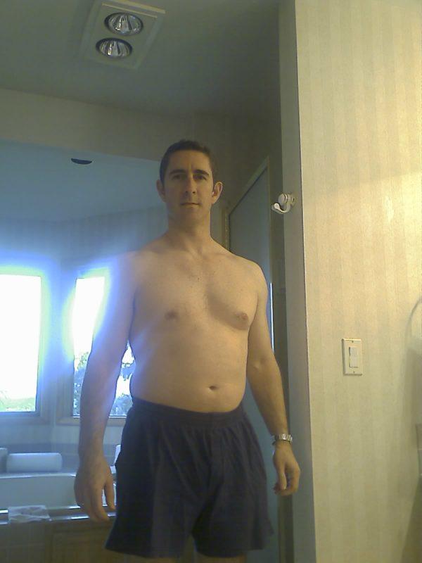 Greg before
